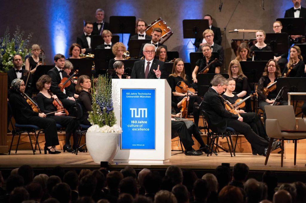 """Festakt """"150 Jahre TUM"""", Rede des Bundesprädisenten Frank-Walter Steinmeier"""