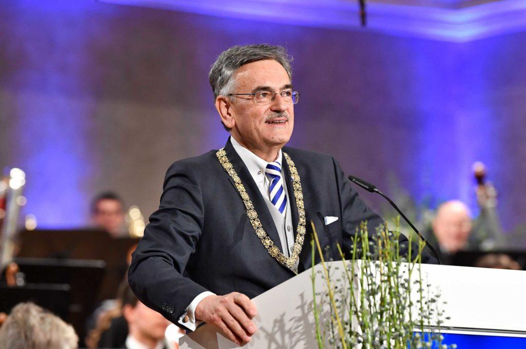 """Festakt """"150 Jahre TUM"""", Rede des TUM Präsidenten Wolfgang A. Hermann"""